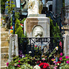 The tomb of the master musician Federic Chopin In Peri Lachaise cemetery In Paris.   by Cyril Jayant