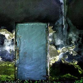 The turquoise Door by Angelika Vogel