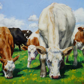 The Twin Calves by Margaret Stockdale