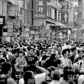 The Umbrella Protests VII by Michael Martin