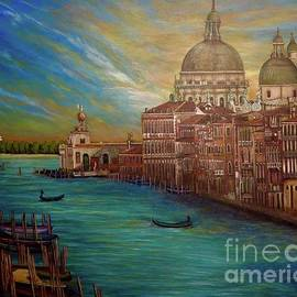 The Venice of My Recollection with Digital Enhancement by Kimberlee Baxter