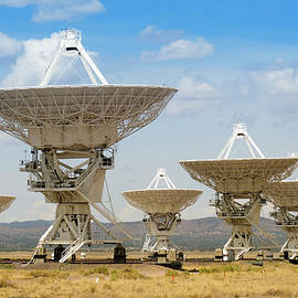 The Very Large Array in New Mexico, USA by Derrick Neill