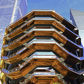 The Vessel at Hudson Yards by Allen Beatty