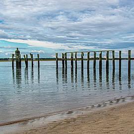 The View at South Topsail Beach North Carolina by Bob Decker