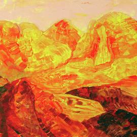 The Volcano Valley by Natalya Shvetsky