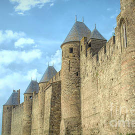 The Walls of Carcassone  by Luther Fine Art