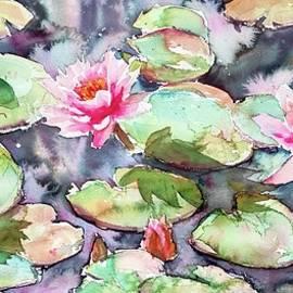 The Waterlily Pond  by Ibolya Taligas