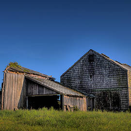 The Watermill Red Barn by Steve Gravano