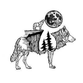 The Wolf by Klandy Vinarao