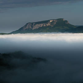 The world above the fog by Cosmin Stan