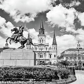 The World Famous St. Louis Cathedral - BW by Scott Pellegrin