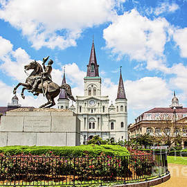 The World Famous St. Louis Cathedral by Scott Pellegrin