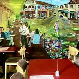The Yellow Cafe at Balestier by Belinda Low