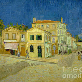 The Yellow House, Van Gogh painting by Jatpart Shop