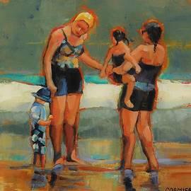 The Yellow Swim Cap by Jean Cormier