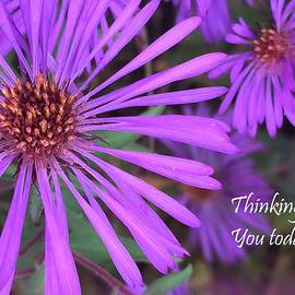 Thinking of You Today by Angela Davies