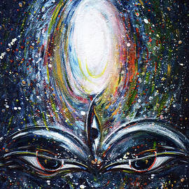 Third eye in Cosmos  by Harsh Malik