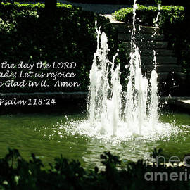 This is the Day the LORD has made Bible Verse by Carol F Austin