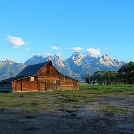 Thomas Alma Mouton Barn  by Lori Frisch
