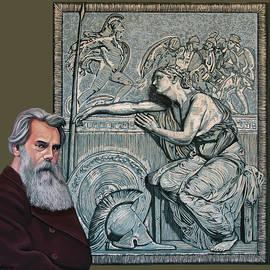 Thomas Woolner Painting by Paul Meijering