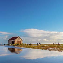 Thornham Staithe Norfolk by Jim Key