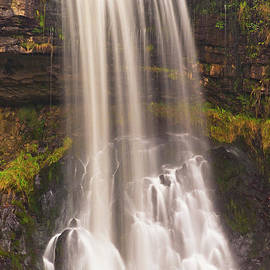 Thornton force waterfall, Ingleton, Yorkshire dales, England by Neale And Judith Clark