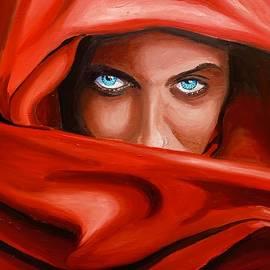 Those eyes..... by Ramesh Mahalingam