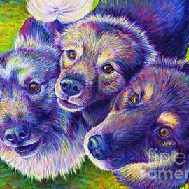 Three Amigos by Rebecca Wang