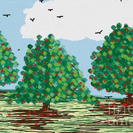 Three Apple Trees by Jenny Revitz Soper