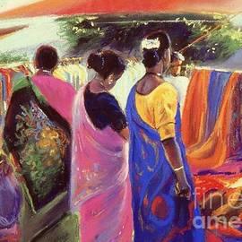 Three beautiful Mauritian women