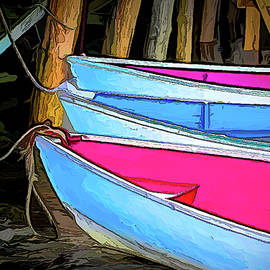 Three Bright Boats by Jerry Griffin