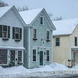 Three Houses All in a Row by Elizabeth Dow