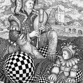 Three Jesters by Eva Barro