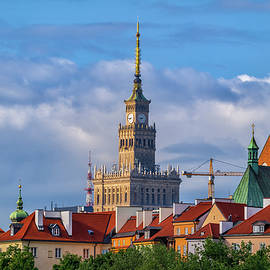 Three Landmarks Of Warsaw by Artur Bogacki