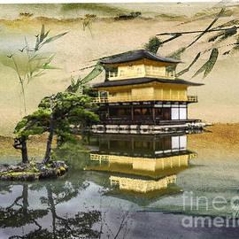 Three Layer Tea House by Deb Nakano