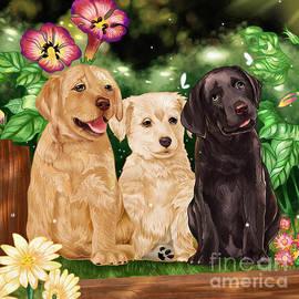 Three of a Kind by Nehemiah Art