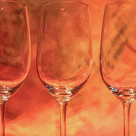 Three Port Glasses by David Letts