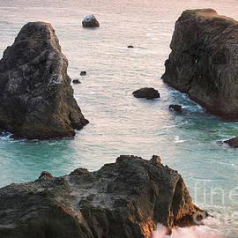 Three Sea Stacks Oregon by Michele Hancock Photography