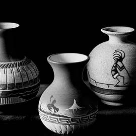 Three Vases by Angelo Marcialis