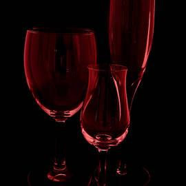 Three Wine Glasses by Kae Cheatham