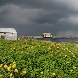 Thunder clouds by Turid Bjornsen