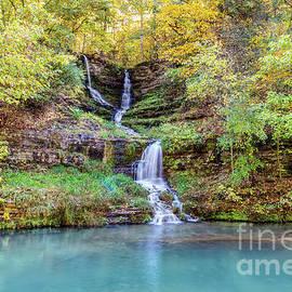 Thunder Falls Autumn by Jennifer White