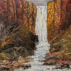 Thundering Falls by Martha Kull