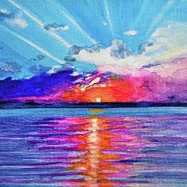 Thursday Sunset by Velda Baglieri