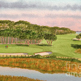 Tidewater Golf Course Myrtle Beach SC by Bill Holkham