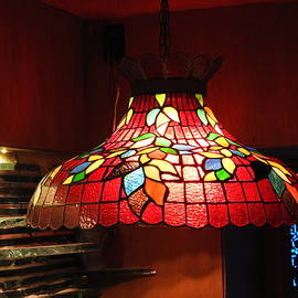 Tiffany Lamp at the House on the Rock by Barbara Ebeling