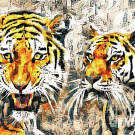 Tiger Couple by Tina LeCour