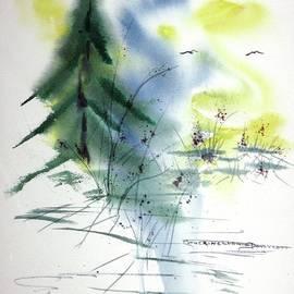 Misty Moment at Lake Tillery  by Catherine Ludwig Donleycott