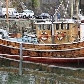 Timber Fishing Boat by Michaela Perryman