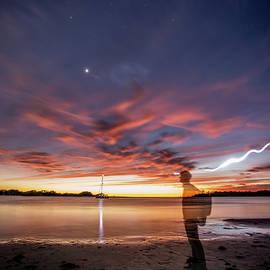 Time Traveler - Dog Beach by Garth Steger